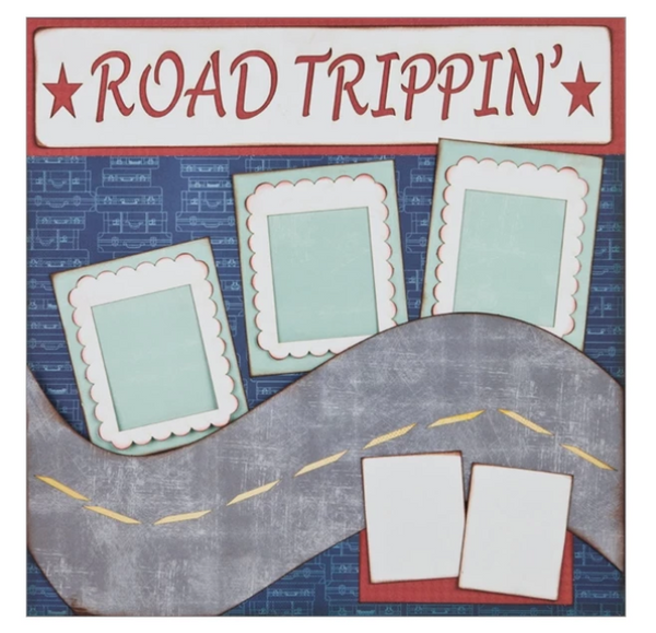 "Road Trippin' - (2) 12"" x 12"" Page Layouts"