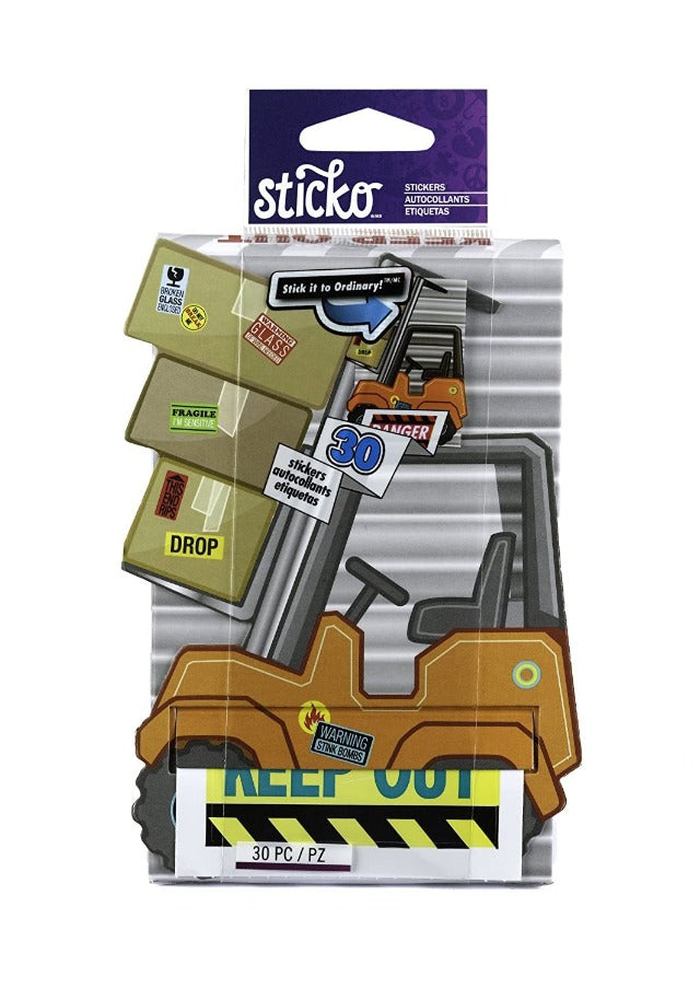 Sticko Decorative Stickers, Danger Zone Roll