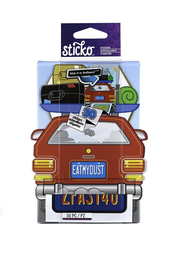 Sticko Decorative Stickers, License Plate Roll