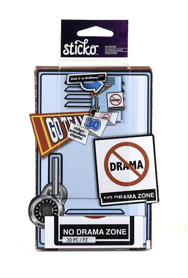 Sticko Decorative Stickers, Zero Drama Roll