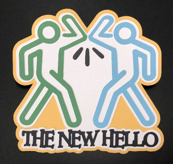 The New Hello Die Cut
