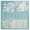 "Vacation Getaway - (2) 12"" x 12"" Page Layouts"
