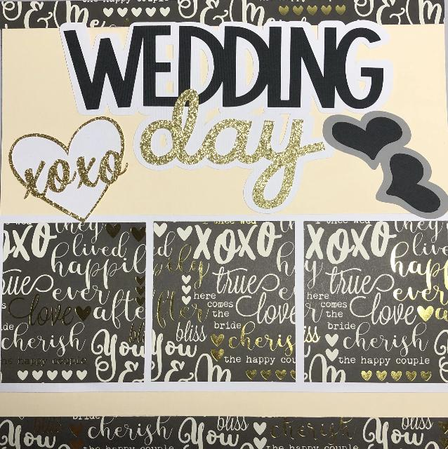 Wedding Day 2 Page Layout Kit