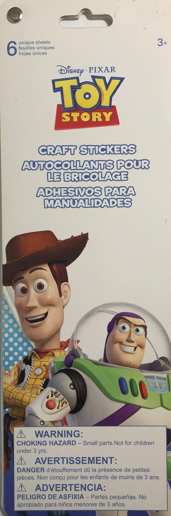 SandyLion Disney Pixar Toy Story Sticker Flip Book - 6 pages