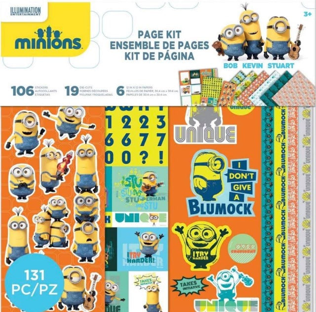 EK Success-Minions 12 x 12 Page Kit