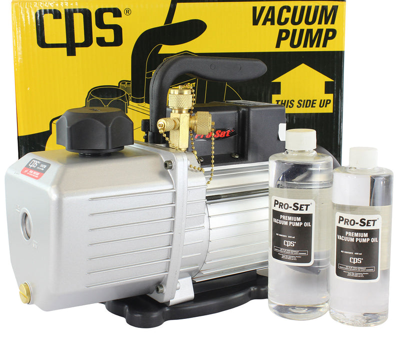 Hardware Factory Store Inc - CPS VP10D Pro-Set Vacuum Pump 10CFM 2 Stage - [variant_title]