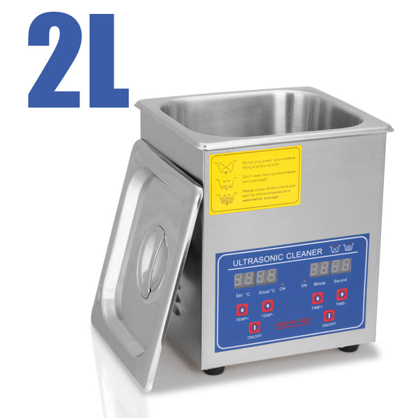 Hardware Factory Store Inc - Commercial Grade Ultrasonic Cleaners - 2L