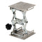 Hardware Factory Store Inc - Lab Jack Stand - Stainless - 4x4x6""