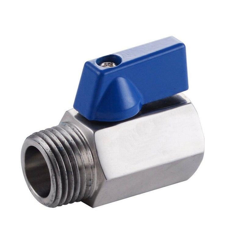 "Hardware Factory Store Inc - Compact Street Valve 1/4"" NPT - 1/4"""