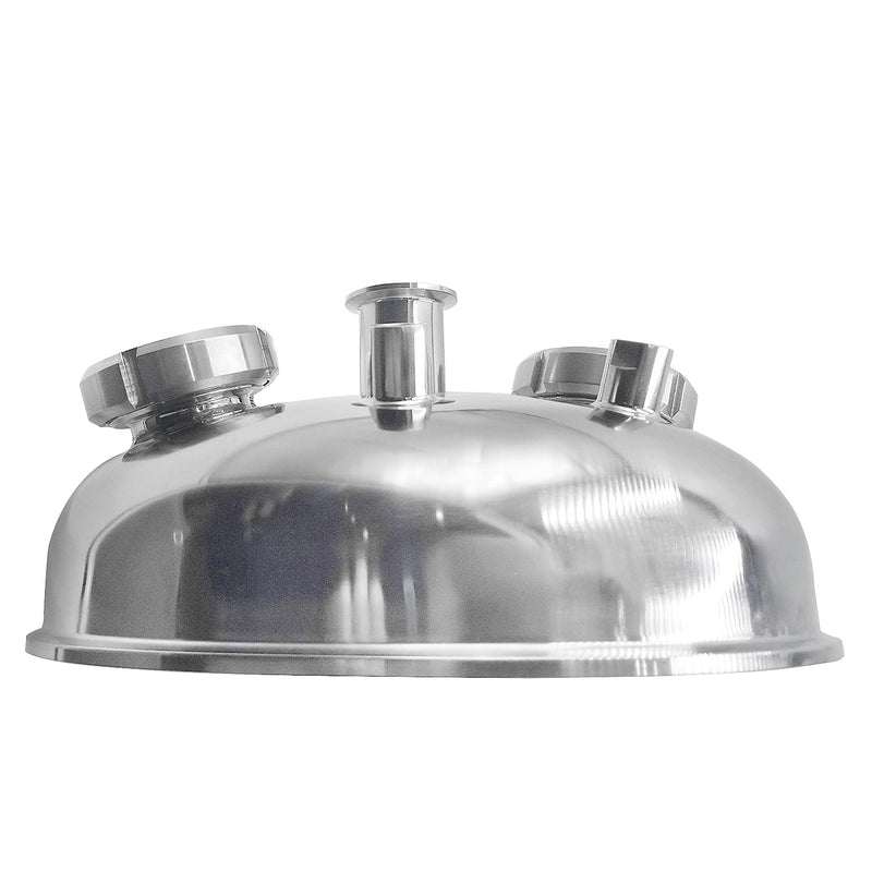 "Hardware Factory Store Inc - 12"" Tri Clamp Hemispherical Dome Lid - [variant_title]"