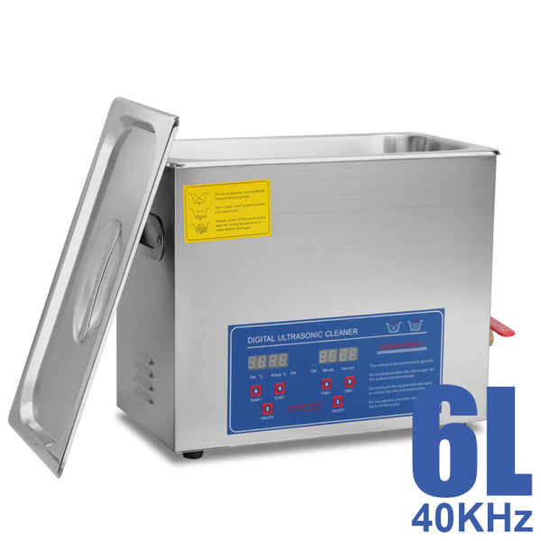Hardware Factory Store Inc - Commercial Grade Ultrasonic Cleaners - 6L
