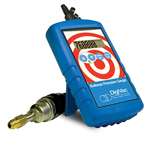 Hardware Factory Store Inc - DigiVac BPG Bullseye Precision Gauge, Portable Hands-Free Micron Meter - [variant_title]