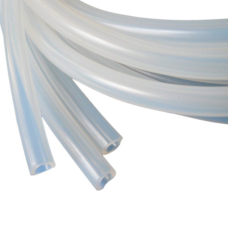 "High Temp Resistance Silicone Tubing ID: 3/8"" OD:5/8"" Wall :1/8"""