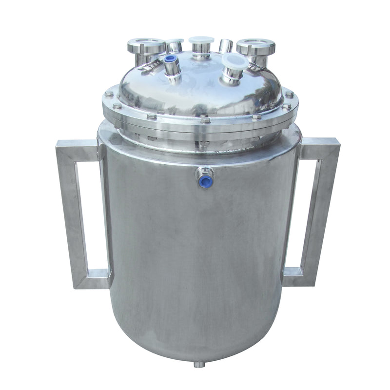 Hardware Factory Store Inc - 14x36 Bottom Spout Base with Spherical Lid and Jacketed - [variant_title]