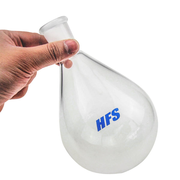 Hardware Factory Store Inc - Oval-Shaped Round Bottom Flask - 500ML