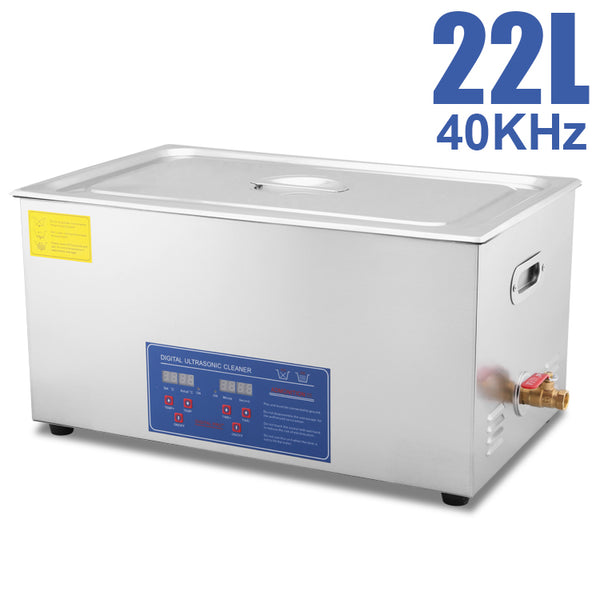 Hardware Factory Store Inc - Commercial Grade Ultrasonic Cleaners - 22L