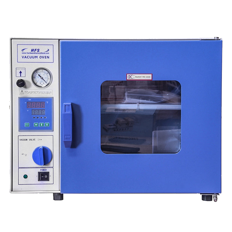 Hardware Factory Store Inc - 0.9 CuFt Vacuum Oven Bundle - 7 Shelf - [variant_title]