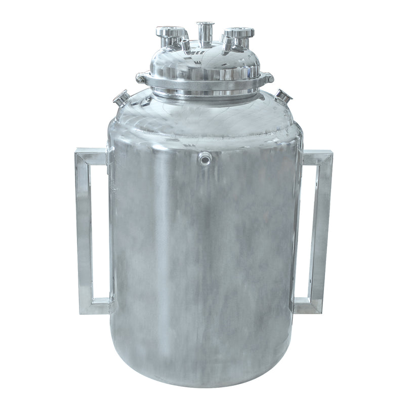 Hardware Factory Store Inc - 20x36 BOTTOM SPOUT BASE WITH SPHERICAL LID AND JACKETED - [variant_title]