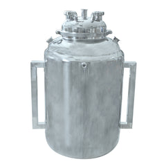 20x36 BOTTOM SPOUT BASE WITH SPHERICAL LID AND JACKETED