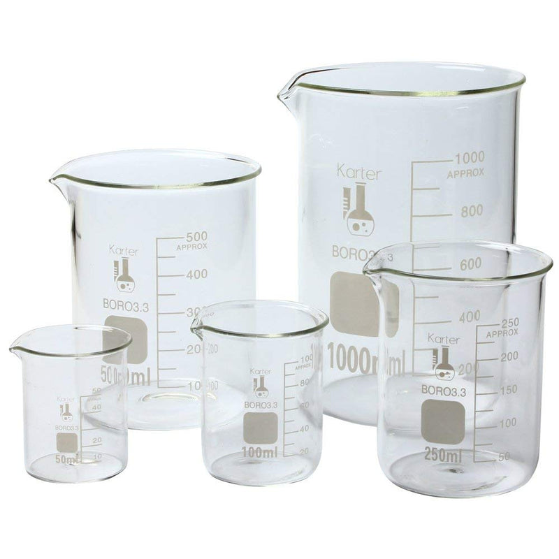 Hardware Factory Store Inc - Graduation Glass Beaker Sets - [variant_title]