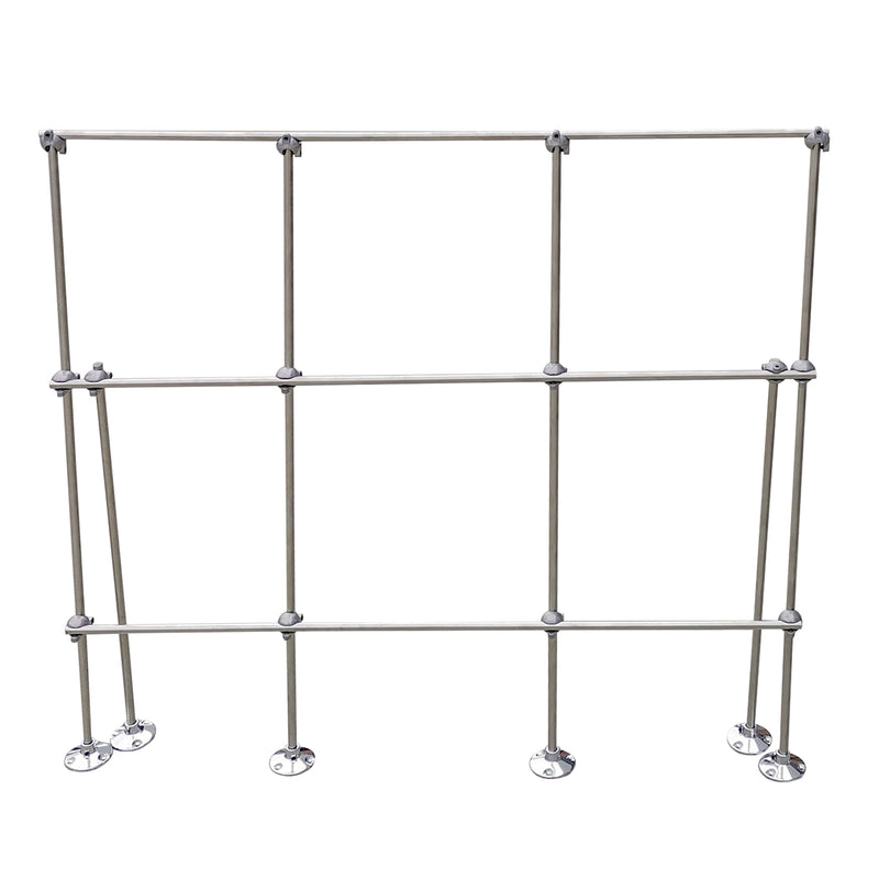 Hardware Factory Store Inc - 4FT Table Top Aluminum Lattice Lab Stand Kits - [variant_title]