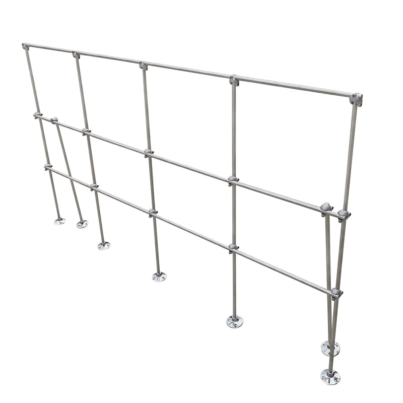 Hardware Factory Store Inc - 6FT Table Top Aluminum Lattice Lab Stand Kits - [variant_title]
