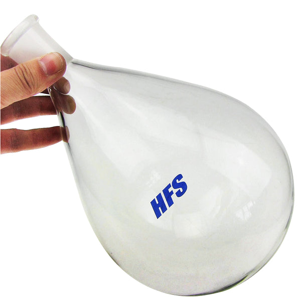 Hardware Factory Store Inc - Oval-Shaped Round Bottom Flask - [variant_title]