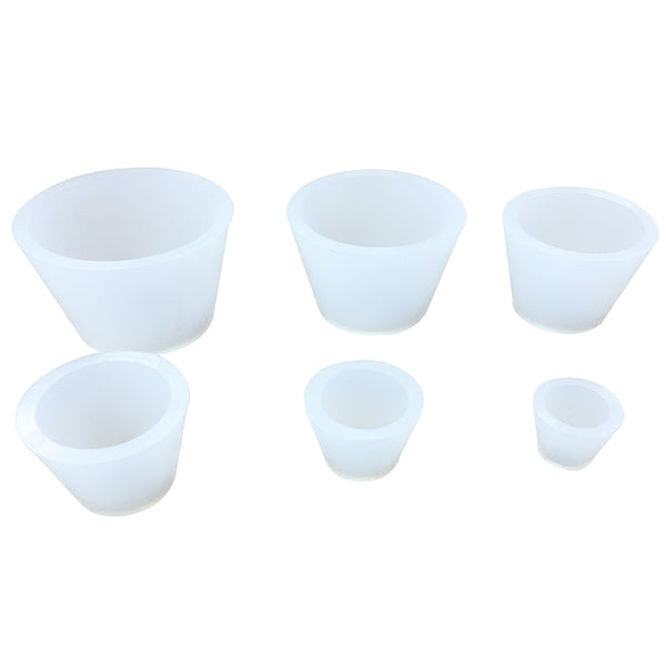 Hardware Factory Store Inc - Silicone Filter Adapter Cones Set, Buchner Funnel Flask Adapter Set,9PCS - [variant_title]