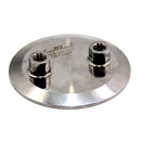"Hardware Factory Store Inc - Tri Clamp To Multiple Female NPT Port Lids - 4""x2-1/4"""