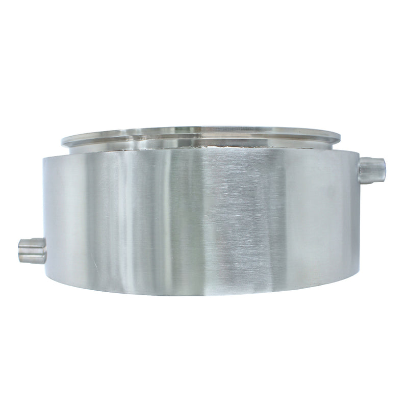 Stainless Steel Tri Clamp Jacketed Collection Plate Multiple sizes