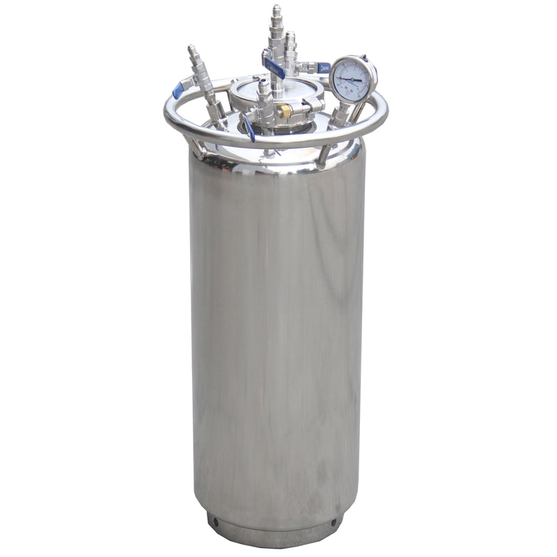 12'' Jacketed Vertical Storage Vessel