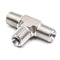 Hardware Factory Store Inc - Male NPT Tees - 3 Way T Coupler - 1/4""