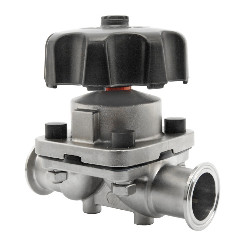 "Hardware Factory Store Inc - 1.5"" Tri Clamp Diaphragm Valve - 1.5"""
