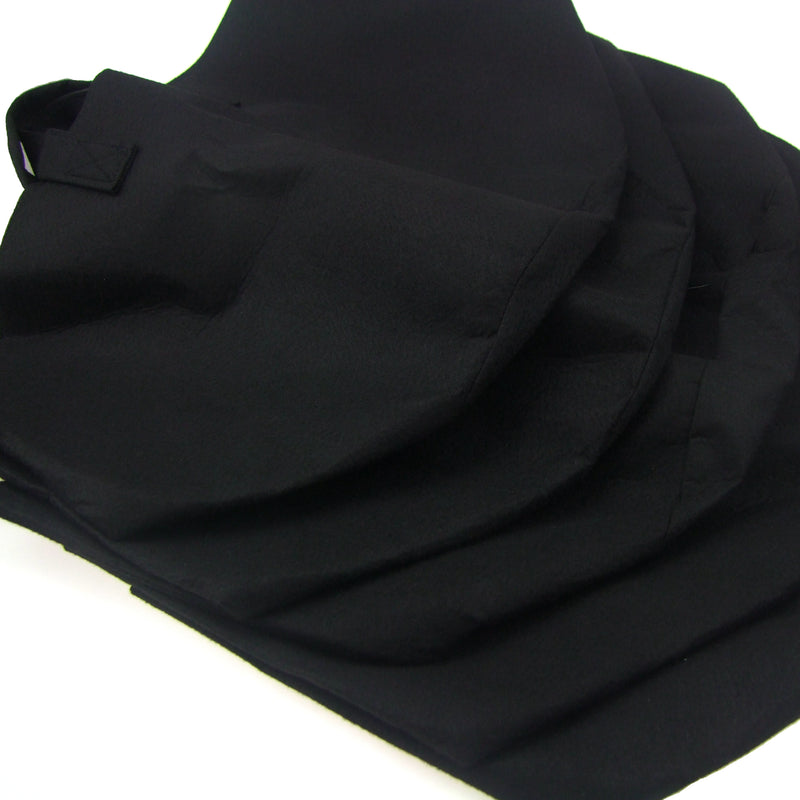 Aeration Fabric Pot/Plant Grow Bag w/Handles (Black)