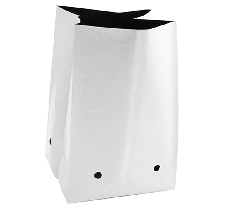 Poly Grow Bag Planters Grow Bag, Panda Film, Black inside and White out
