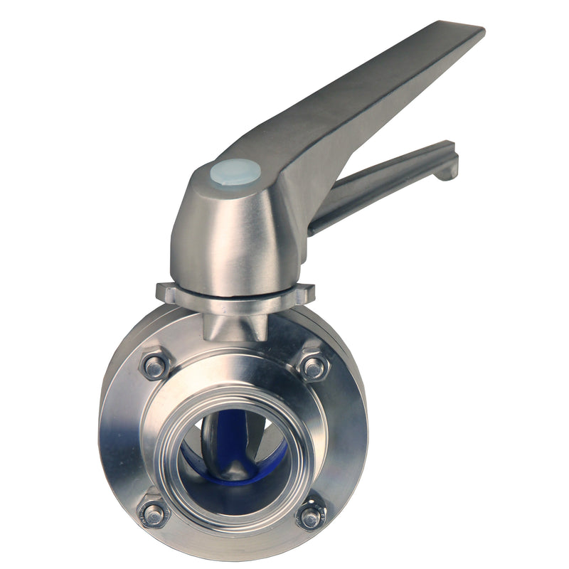 Hardware Factory Store Inc - Tri Clamp Butterfly Valve - Squeeze Trigger - [variant_title]