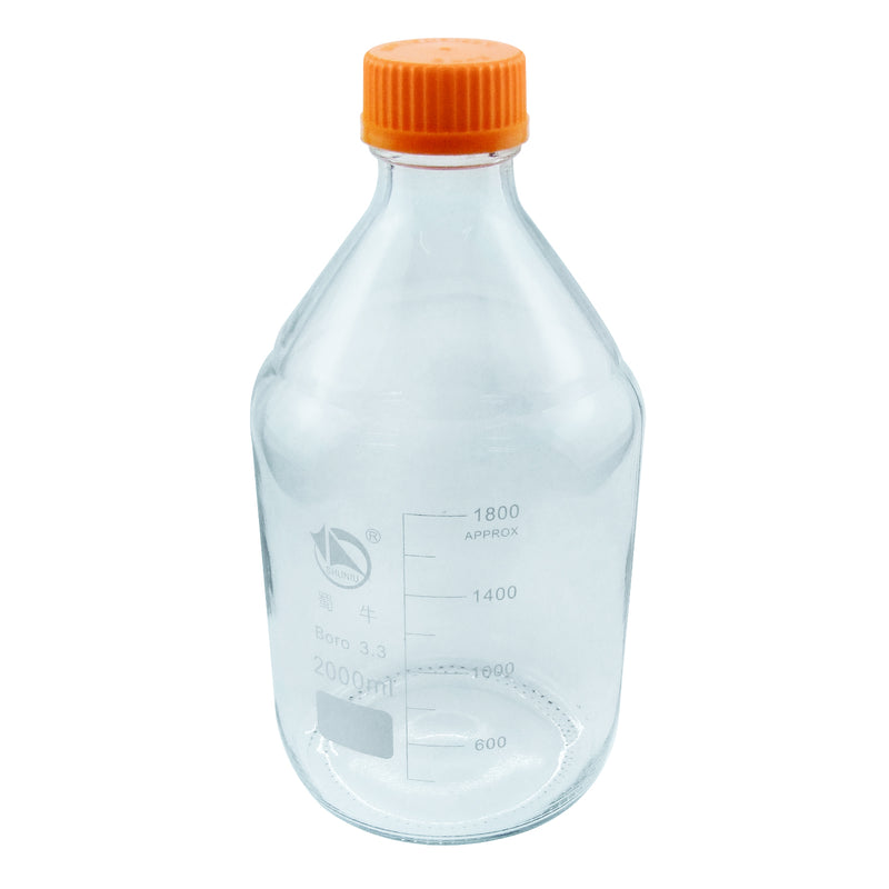 Hardware Factory Store Inc - Glass Media Bottles - 2L