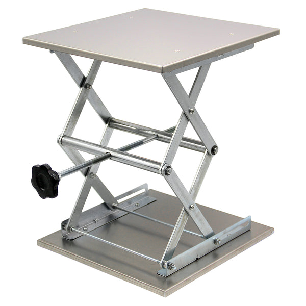 Hardware Factory Store Inc - Lab Jack Stand - Stainless - 12x12x15