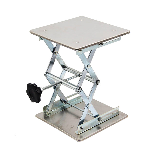 Hardware Factory Store Inc - Lab Jack Stand - Stainless - 8x8x10