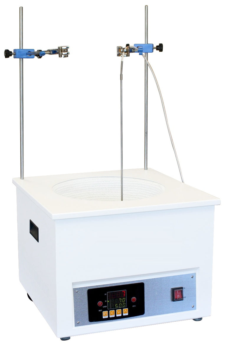 Hardware Factory Store Inc - Digital Heating & Stirring Mantle 300°C 2000 RPM - 10L