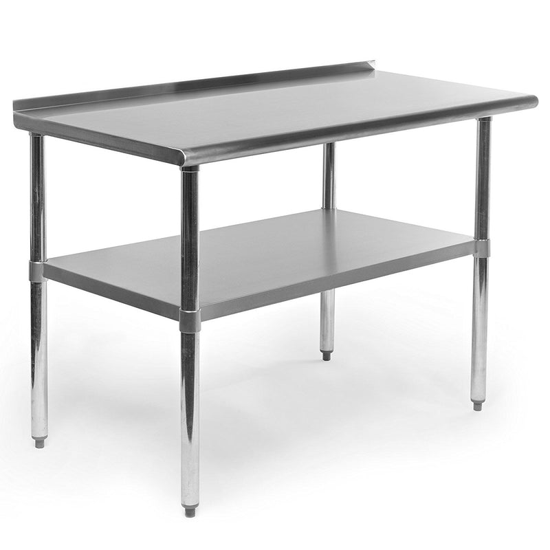 STAINLESS STEEL WORKING TABLE 60X24X32IN