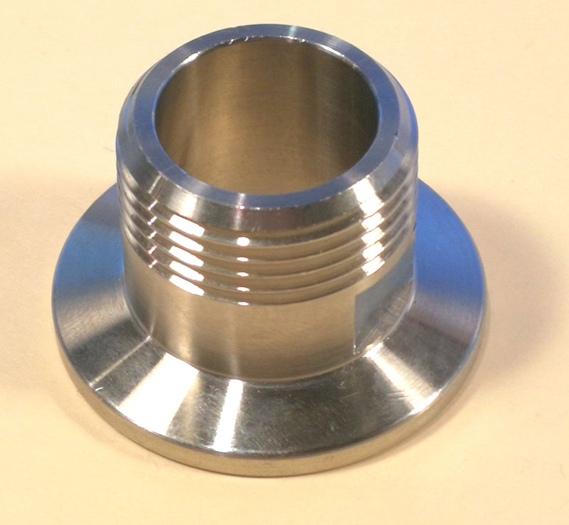 KF40 (NW-40) to 3/4 Male NPT Thread Stainless 304