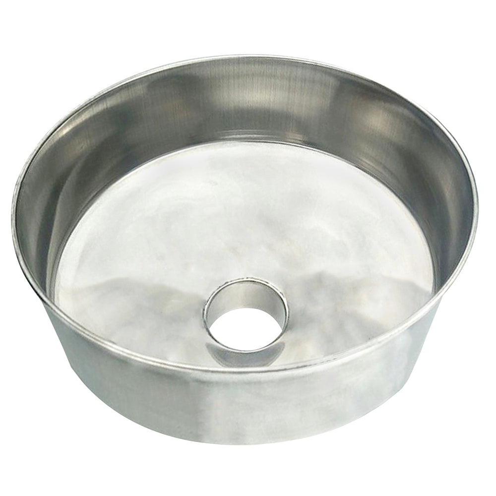 "Stainless Steel Funnel - 3"" Output"