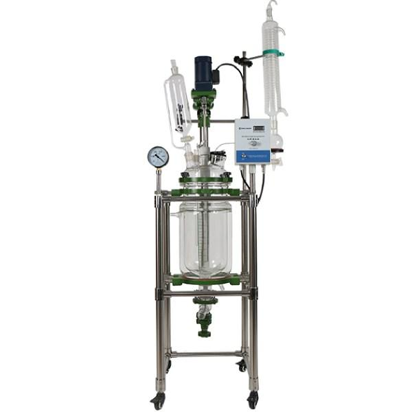Hardware Factory Store Inc - Glass Reactor 20L 110V 1 Phase - 50L