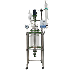Glass Reactor 10L 110V 1 Phase