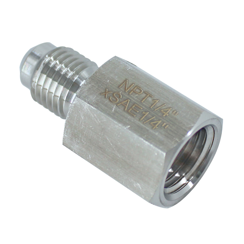 Female NPT to Male SAE/JIC Adapter - Multiple Sizes