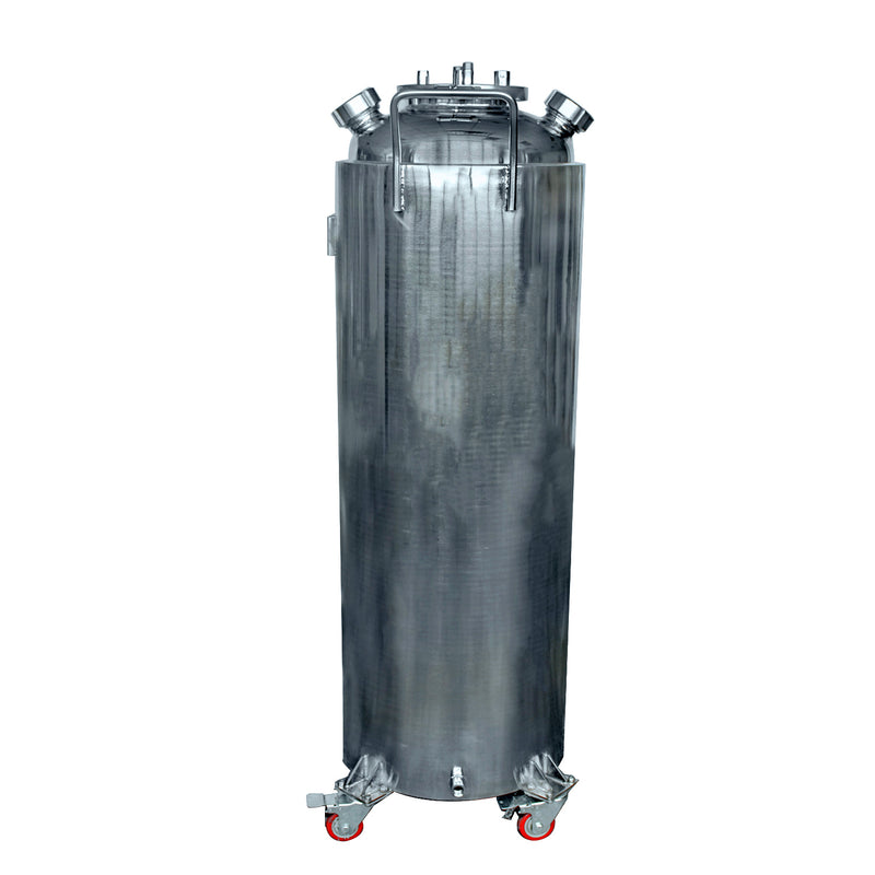 "Hardware Factory Store Inc - Jacketed Solvent Tank, 16x48"", Pressure Tested, Ready to Use - [variant_title]"