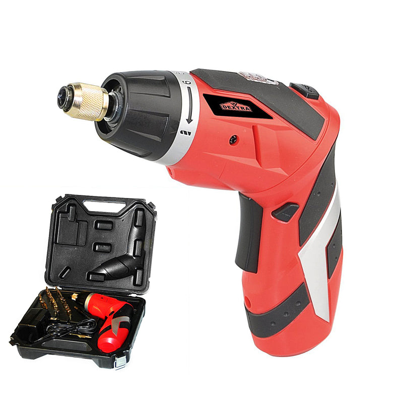 Hardware Factory Store Inc - Dextra 4 Volt Lithium-Ion Cordless Screwdriver Kit - [variant_title]