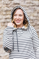 Oatmeal Stripes with Camo Accents hoodie-Hoodie-Michelle Mae-[option4]-[option5]-[option6]-[option7]-[option8]-Shop-Boutique-Clothing-for-Women-Online