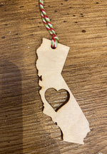 California wooden ornament-The Bee Chic Boutique-[option4]-[option5]-[option6]-[option7]-[option8]-Shop-Boutique-Clothing-for-Women-Online